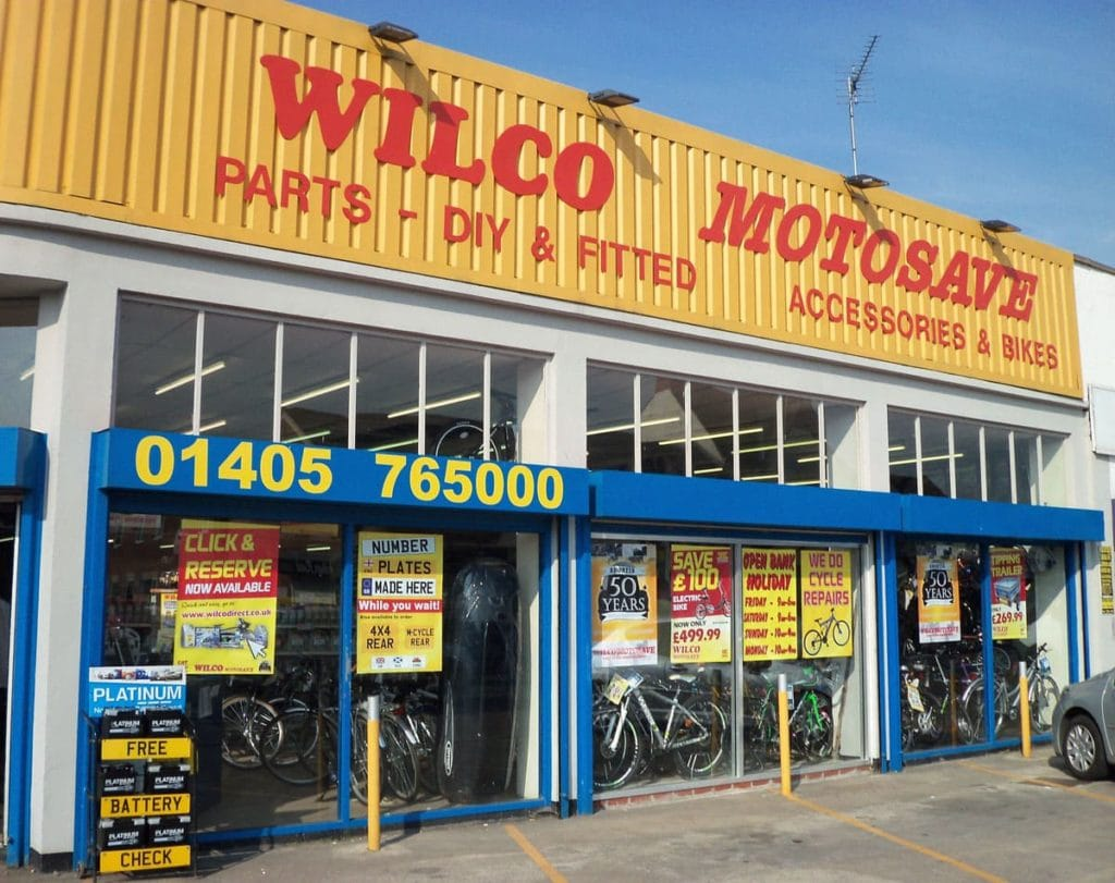 Outside photo of WIlco Motosave Goole branch