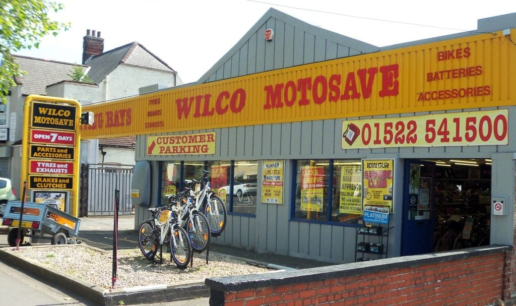 Outside photo of Wilco Motosave Wragby Road