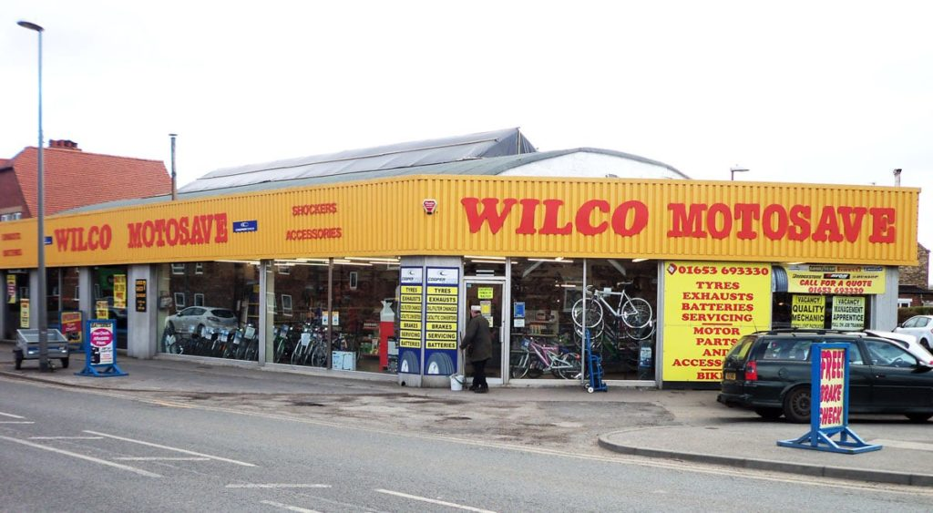 Outside photo of Wilco Motosave Malton