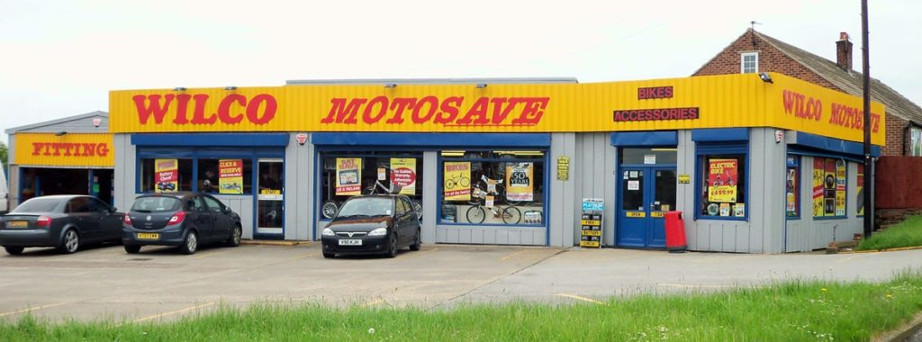 Outside photo of Wilco Motosave Lundwood branch