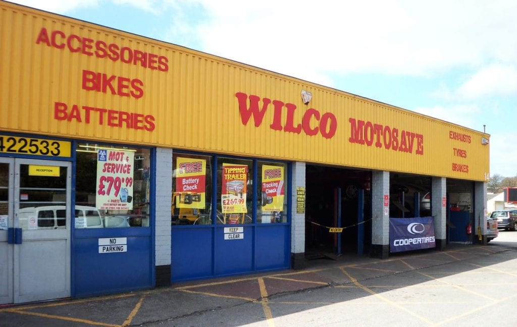 Outside photo of WIlco Motosave Birstall branch