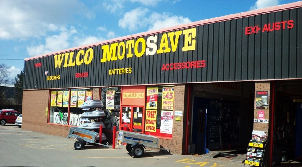 Outside photo of Wilco Motosave Castleford branch
