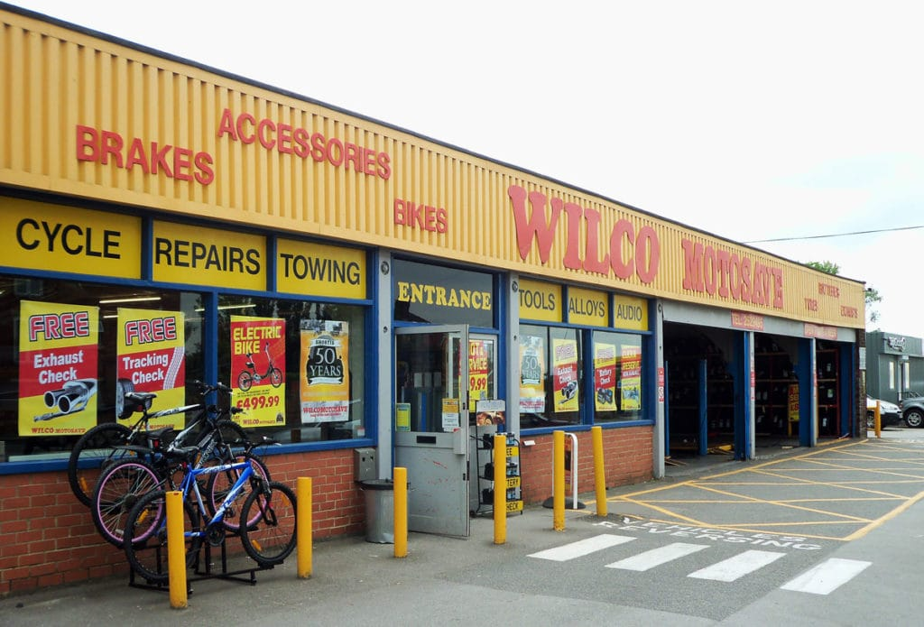 Outside photo of Wilco Motosave Morley