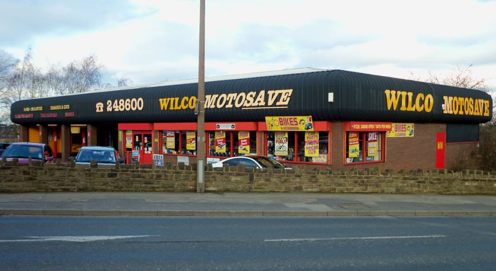 Outside photo of Wilco Motosave Wilthorpe Road branch