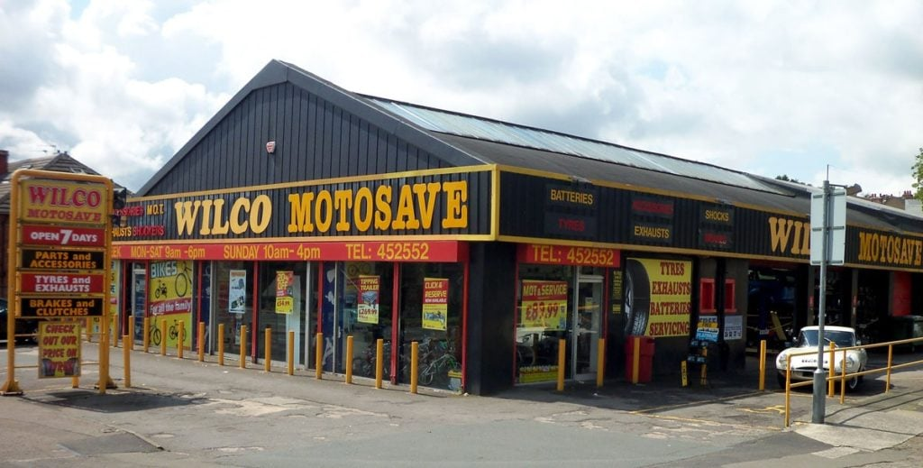 Photo of the outside of Motosave Huddersfield