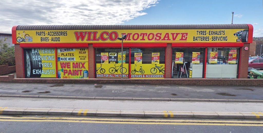 Outside photo of Wilco Motosave Bramley