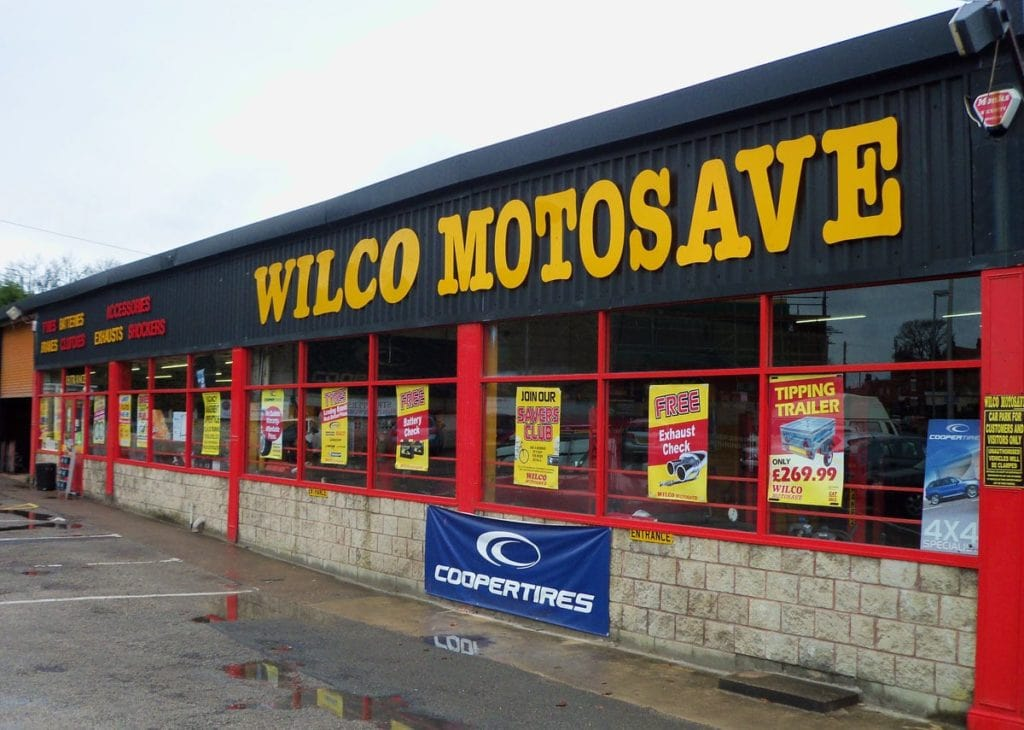 Outside photo of Wilco Motosave Worksop