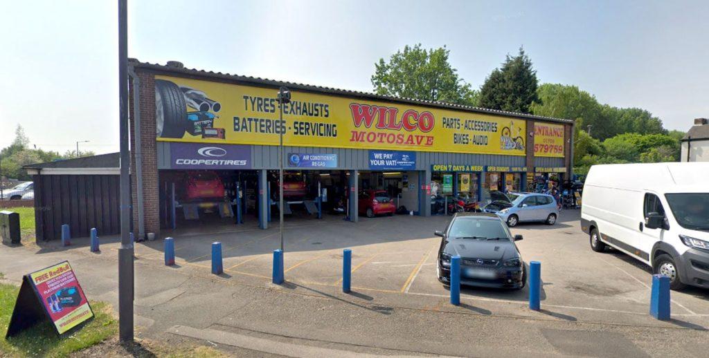 Outside photo of Wilco Motosave Mexborough