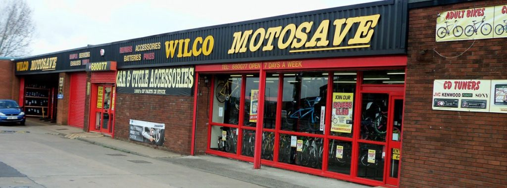 Outside photo of Wilco Motosave Tong Street branch