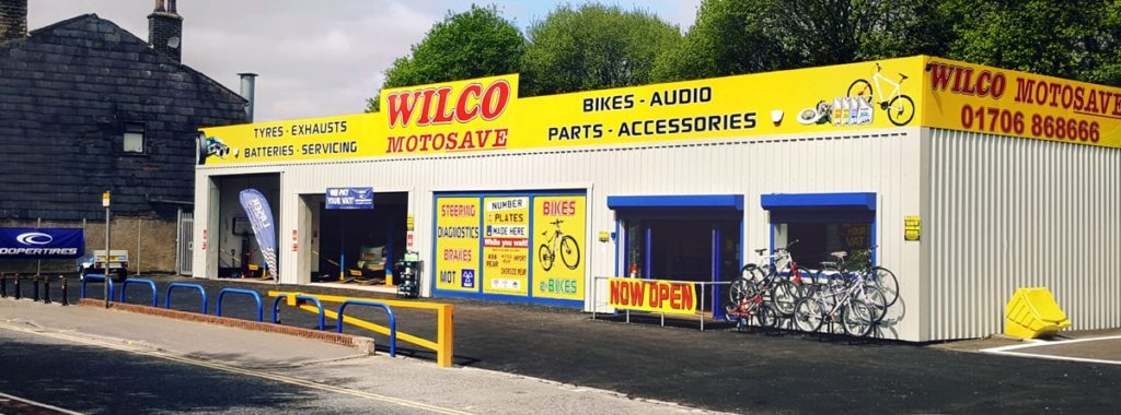 Outside photo of Wilco Motosave Rochdale
