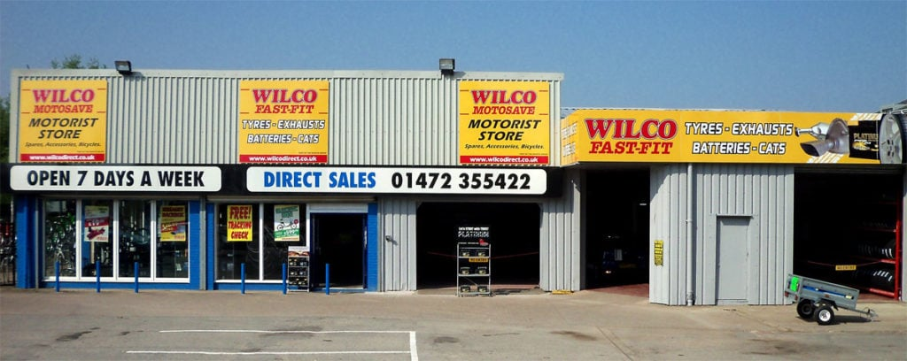 Outside photo of Wilco Motosave Grimsby branch
