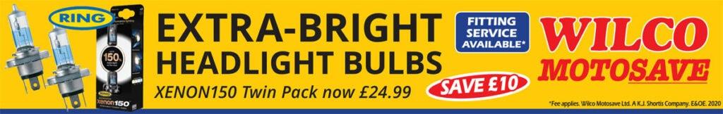 Ring Xenon150 Bulbs Offer