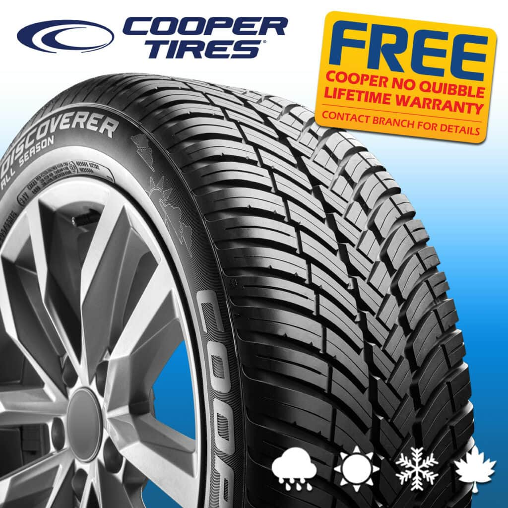 Cooper All-Season Discoverer Tyres
