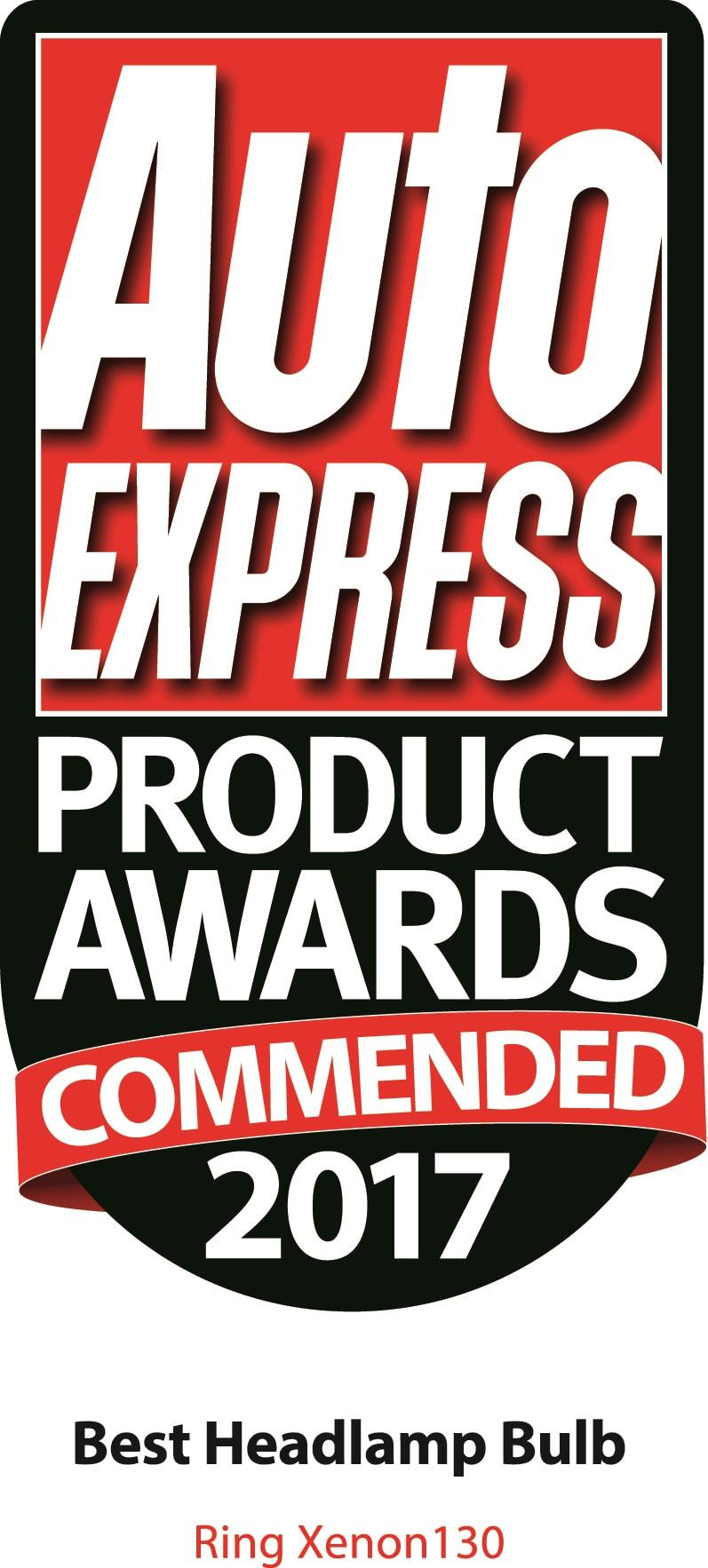 Auto Express Commended product