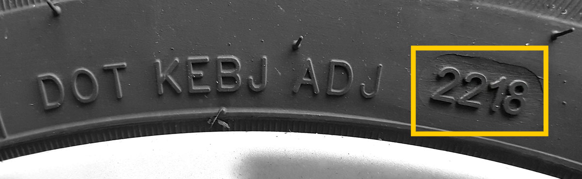 Tyre Age DOT Code
